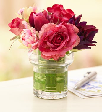Sweet Spring Silk Flowers