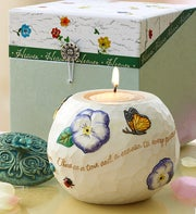 Heaven Comfort in Bloom Candle Holder