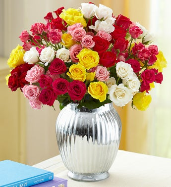 Spray Roses with Cookies, 50-100 Blooms