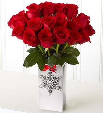 Red Roses, 18 Stems with Chocolate