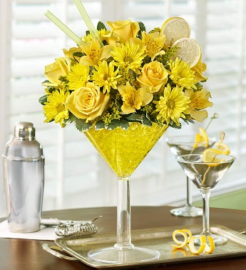 Lemon Martini Bouquet?