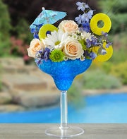 Blue Hawaiian Floral Margarita?