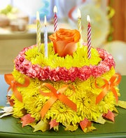 Birthday Flower Cake� for Fall