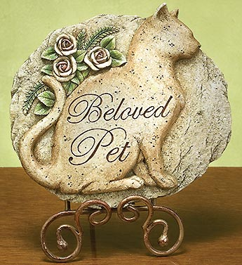 Beloved Cat Plaque