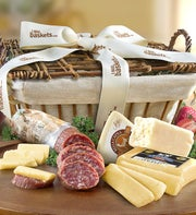 Meat & Cheese california basket - 1800baskets.com