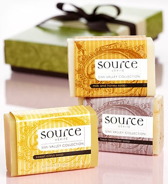 Simi Valley Triple French-milled Soaps for Her