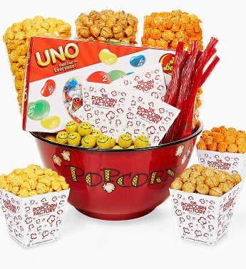 The Popcorn Factory� Bowl & Snacks
