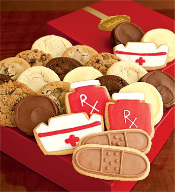Cheryl's Get Well Soon Fancy Cookie Gift Box