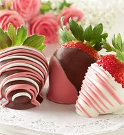 Living & Loving Chocolate Strawberries 6ct