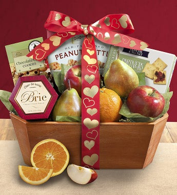 Love is Fresh From The Orchard� Fruit Gift Basket