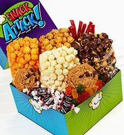 The Popcorn Factory� Snack Attack Sampler Box