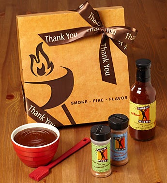 Thank You Smokin' Willies BBQ Set