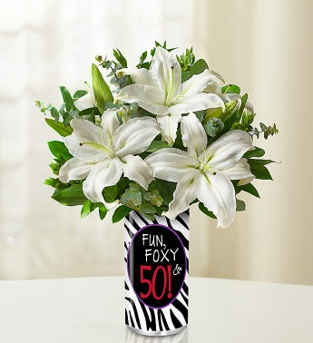 Fun, Foxy & 50 Bouquet