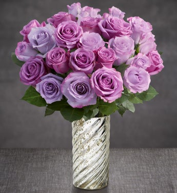 Purple Rose Bouquet for Sympathy