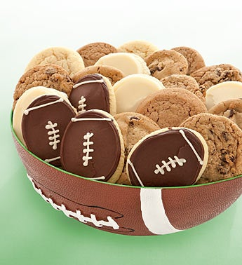 Cheryl?s Cookies Football Party Bowl