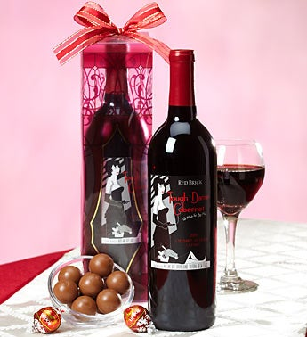Romantic Evening Red Wine Lindt Truffles