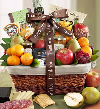 You Shouldn?t Have Thank You Gift Basket