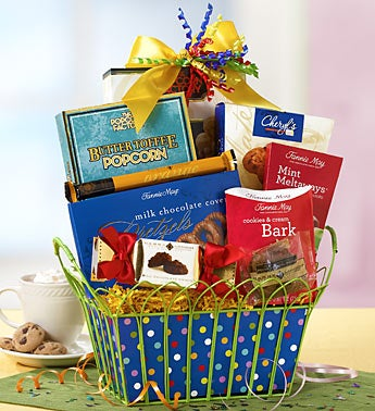 Happy Birthday Chocolate Indulgence Gift Basket