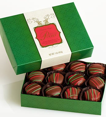 Fannie May Holiday Chocolates Pixies