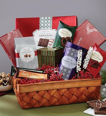 Fannie May� Holiday Pleasures Gift Basket