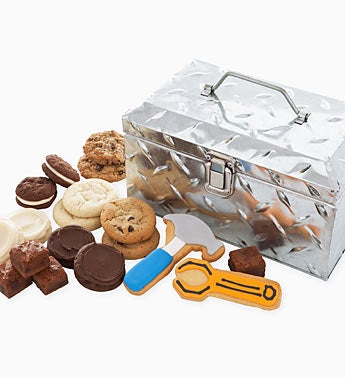 Cheryls Fathers Day Tool Box & Gourmet Cookies