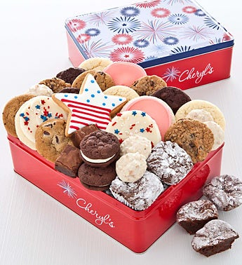 Cheryl?s Americana Cookies Tin 16ct