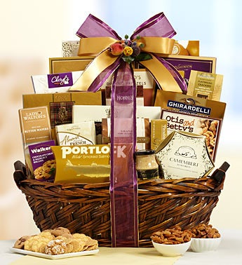 Nature?s Bounty Gourmet Gift Basket