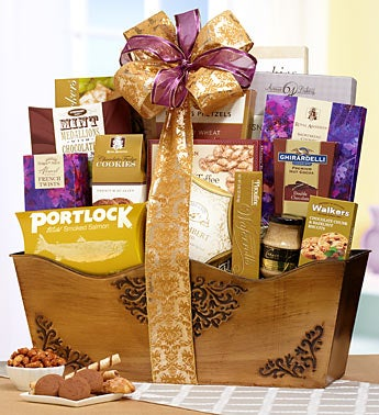 Grand Luxury Gourmet Gift Basket