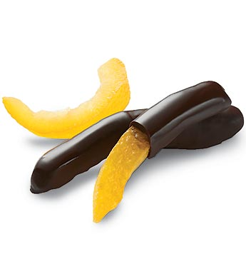Fannie May Dark Chocolate Covered Orange Peels