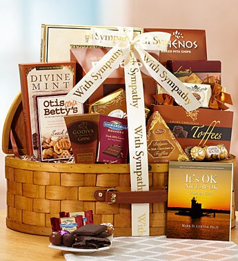 With Heavy Hearts Sympathy Basket