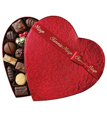 Fannie May� Assorted Chocolate Heart 2lb