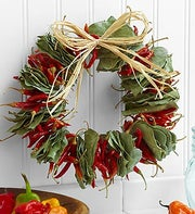 Spicy Chili Wreath