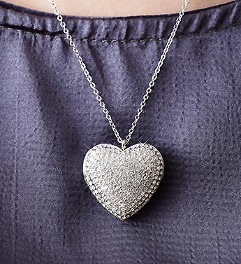 SWAROVSKI Crystal Pendant Heart Locket