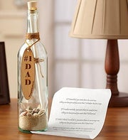 Personalized Message in a Bottle� for Dad