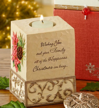 Happiness at Christmas Keepsake Candle