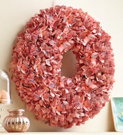 Rose Floral Paper Wreath