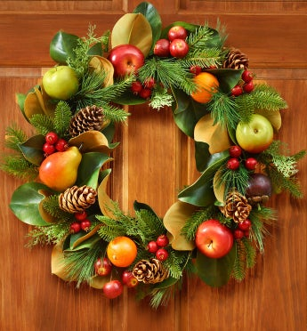 Fruit & Foliage Wreath
