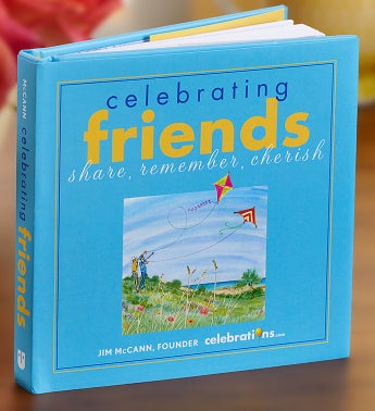 Celebrating Friends Book