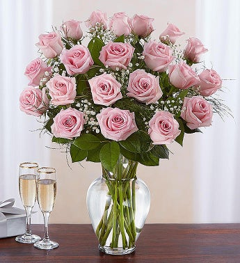 Rose Elegance? Eighteen Pink Roses